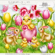 Elements cu- 415 Easter elements