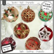 Ornaments - Balls - Christmas 5
