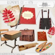 Elements cu - 479 Vintage back to school