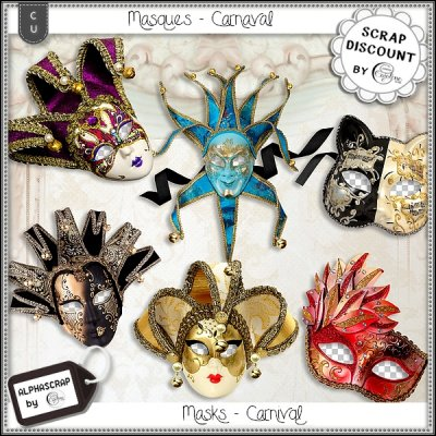 Masques - carnaval 4