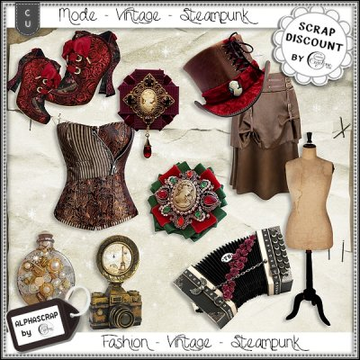 Fashion - Accessories - Vintage - Steampunk 2