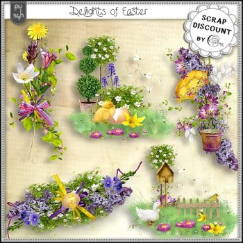 Delights of Easter - embellissements