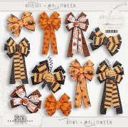 Bows - Halloween 1