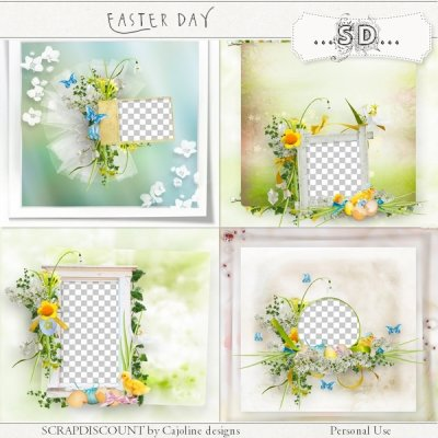 Easter day - quick pages
