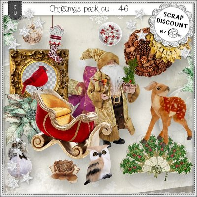 Christmas pack CU - 46
