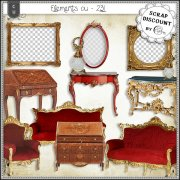 Elements CU - 231 Ameublement baroque et rococo