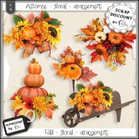 Fall - Floral - Arrangement 2