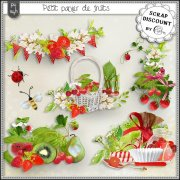 Petit panier de fruits - embellishments