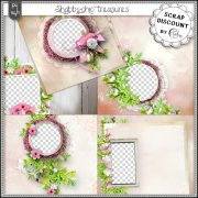Shabby-chic treasures - quick pages