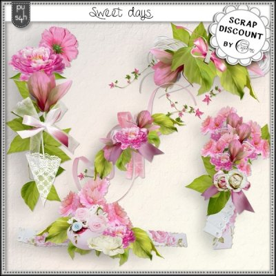 Sweet days - embellissements