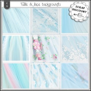 Backgrounds - Tulle 1