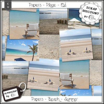 Papers - Beach - Summer 3