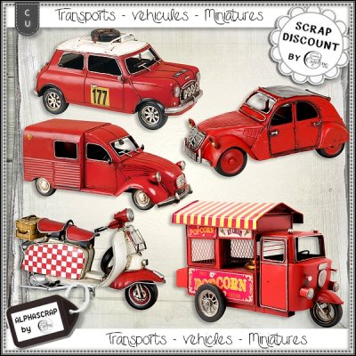 Vehicles - Transports - Miniatures 2