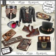 Fashion - Accessories - Vintage - Steampunk 5