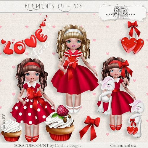 Elements cu - 408 Saint Valentin