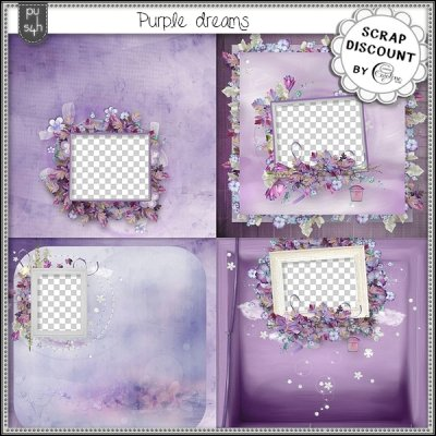 Purple dreams - quick pages