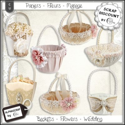 Baskets - Flowers - Wedding 1