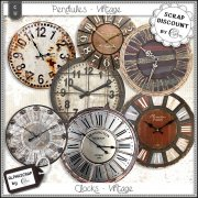 Wallclocks - Vintage 1