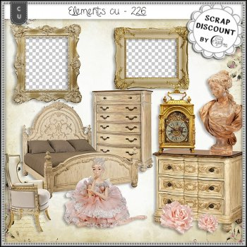 Elements CU - 226 Ameublement baroque et rococo