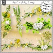 Sweet melody of spring - embellissements