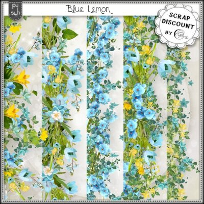 Blue lemon - borders