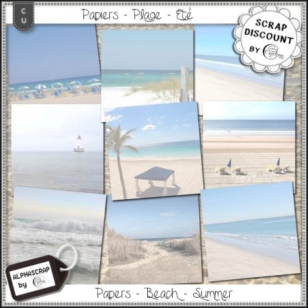 Papers - Beach - Summer 6