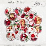 Valentine's day - buttons