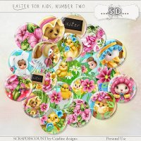 Easter for kids number two - buttons