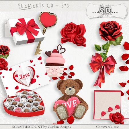 Elements cu - 395 Saint-Valentin