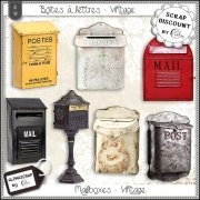 Mailboxes - Vintage 1
