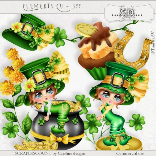Elements cu - 399 Saint-Patrick's day