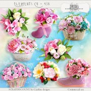 Elements cu - 438 flowers arrangements