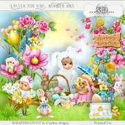 Easter for kids number one - full size kit PU/S4H