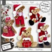 Plushies - Teddies - Christmas