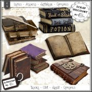 Books - Old - Spells - Grimoires 1