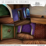 La fabrique de costumes - scenic papers