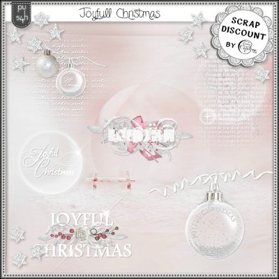Joyfull Christmas - wordarts