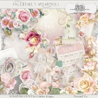 Valentine's memories - kit full size PU/S4H