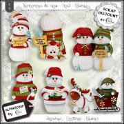 Snowmen - Christmas - Figurines 2
