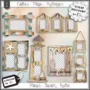 Frames - Beach - Sea - Summer - Distressed 9