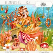 Elements cu - 464 The coral world 1