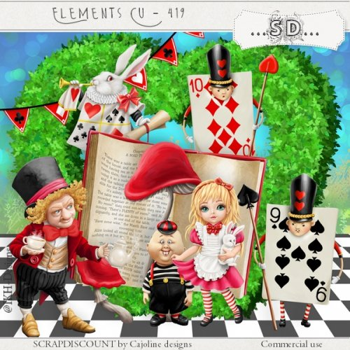 Elements cu - 419 Alice part1