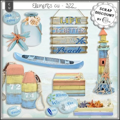Elements CU - 322 Summer, Sea, Beach