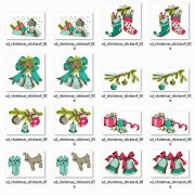 Stickers - Christmas - Vintage 4