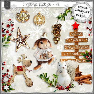 Christmas pack CU - 78