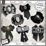 Bows - Fashion - Vintage 6