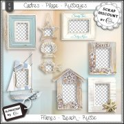 Frames - Beach - Sea - Summer - Distressed 5