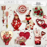Elements cu - 504 Victorian Valentine