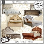 Beds - Furniture - Antique 2