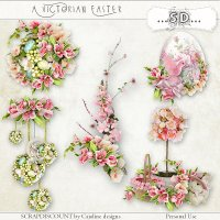 A victorian Easter - embellishments